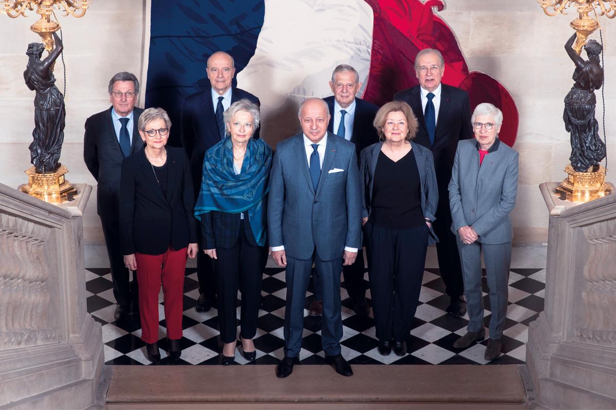 Les membres du Conseil Constitutionnel