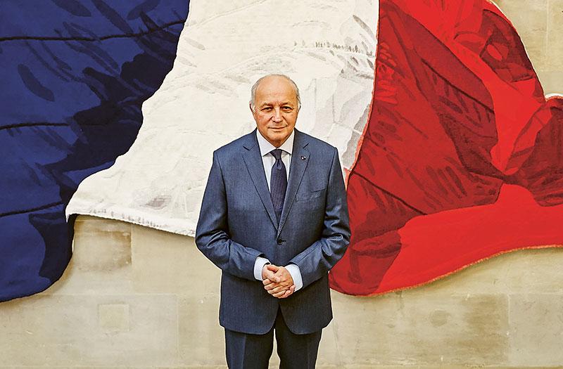 Portrait Laurent Fabius