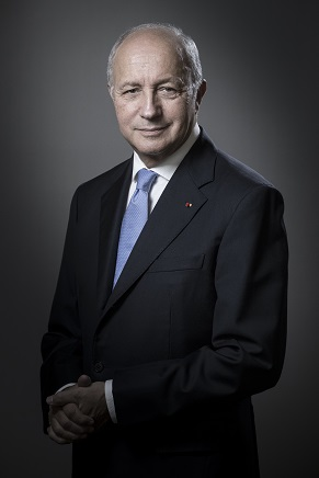 Portait de Laurent Fabius © Joël Saget / AFP
