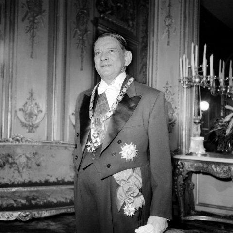 Portrait de M. René Coty