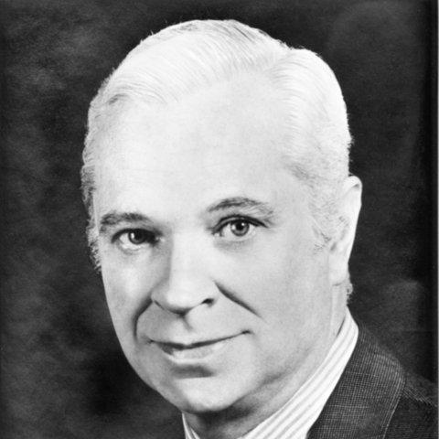 Portrait de M. Roger Frey