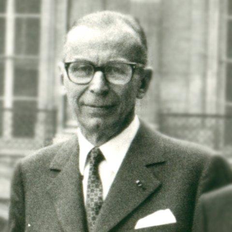Portrait de M. François Goguel