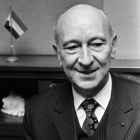 Portrait de M. Robert Lecourt
