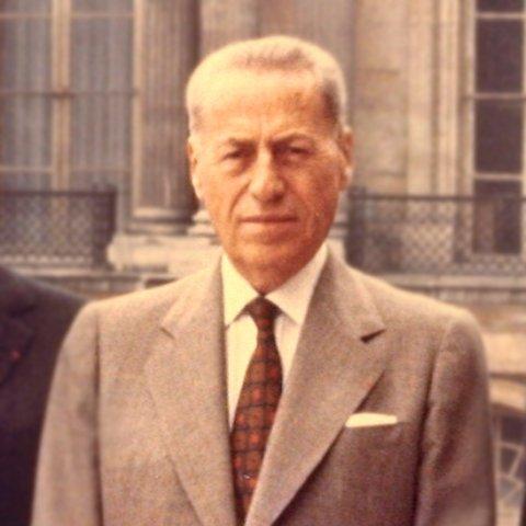 Portrait de M. Henri Rey