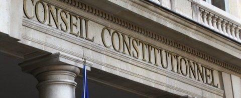 Bandeau de la landing Conseil constitutionnel