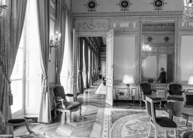 Le grand salon de l'aile Montpensier