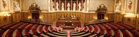 L'hémicyle du Sénat
