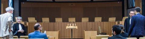 Salle d'audience du Conseil constitutionnel