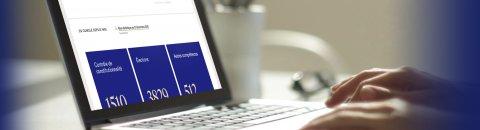 Bandeau de présentation de la page des bilan statistiques