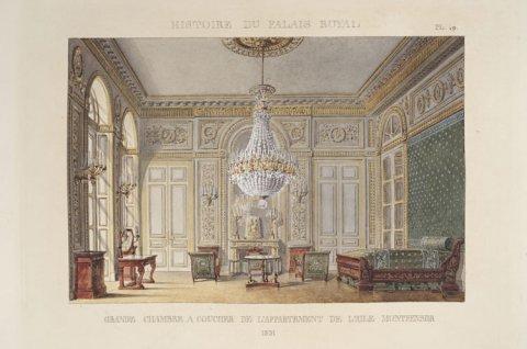Grande chambre à coucher de l'appartement de l'aile Montpensier