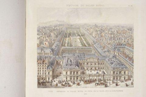 Vue générale du Palais-Royal