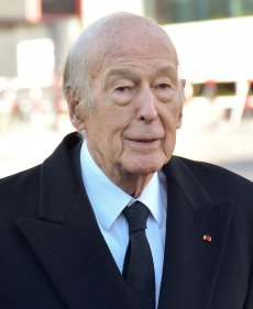 Portrait de M. Valéry Giscard d'Estaing