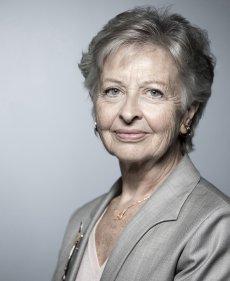Portrait de Claire Bazy Malaurie, membre du Conseil constitutionnel